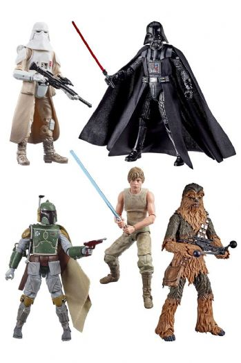 Star Wars The Black Series Empire Strikes Back Wave 3 Set of 5 - Pre-Order